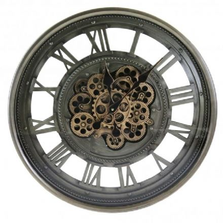 Wheel Cogs Wall Clocks